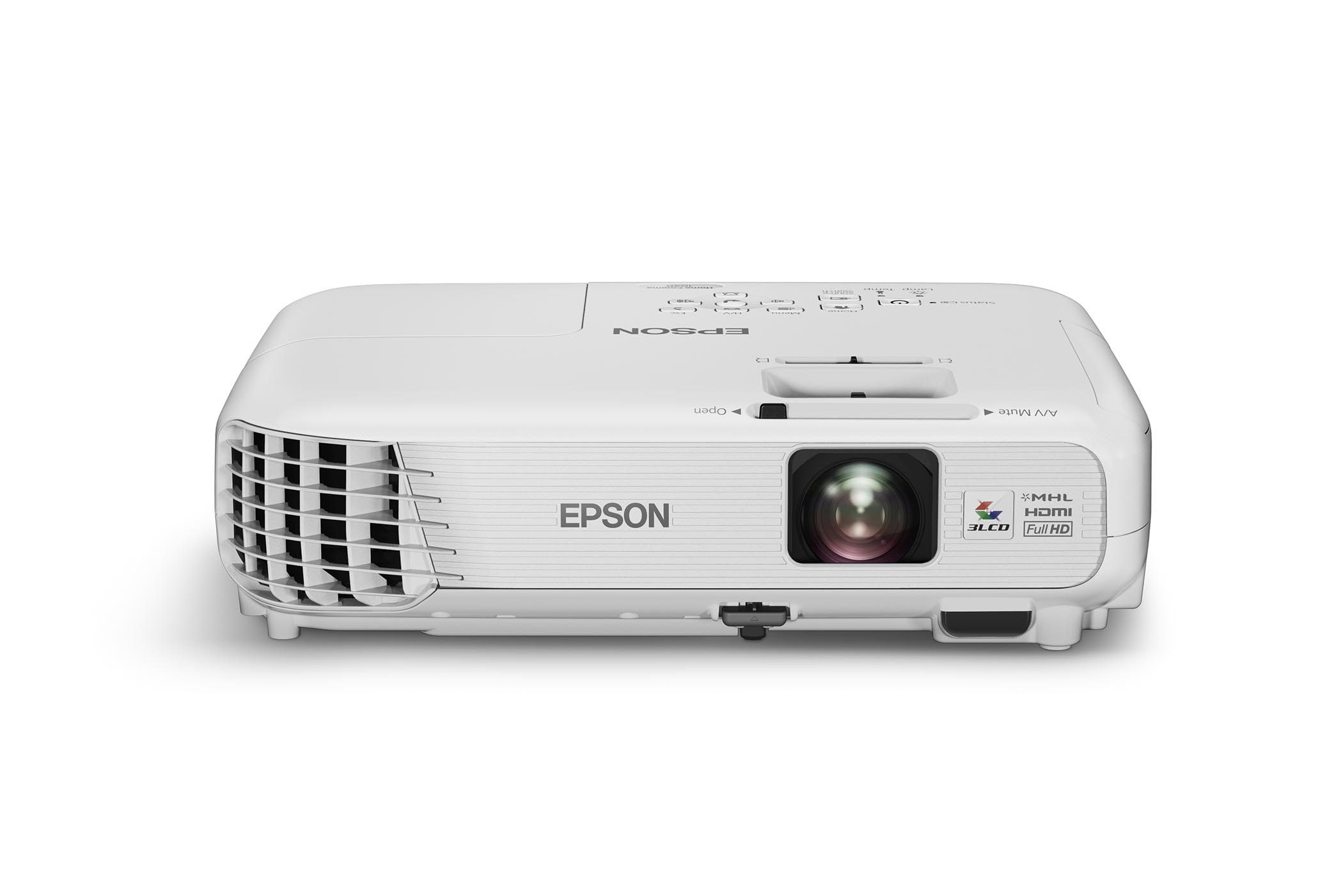 Epson powerlite home cinema 1040 1080p 3lcd projector 3000 for Small projector with high lumens