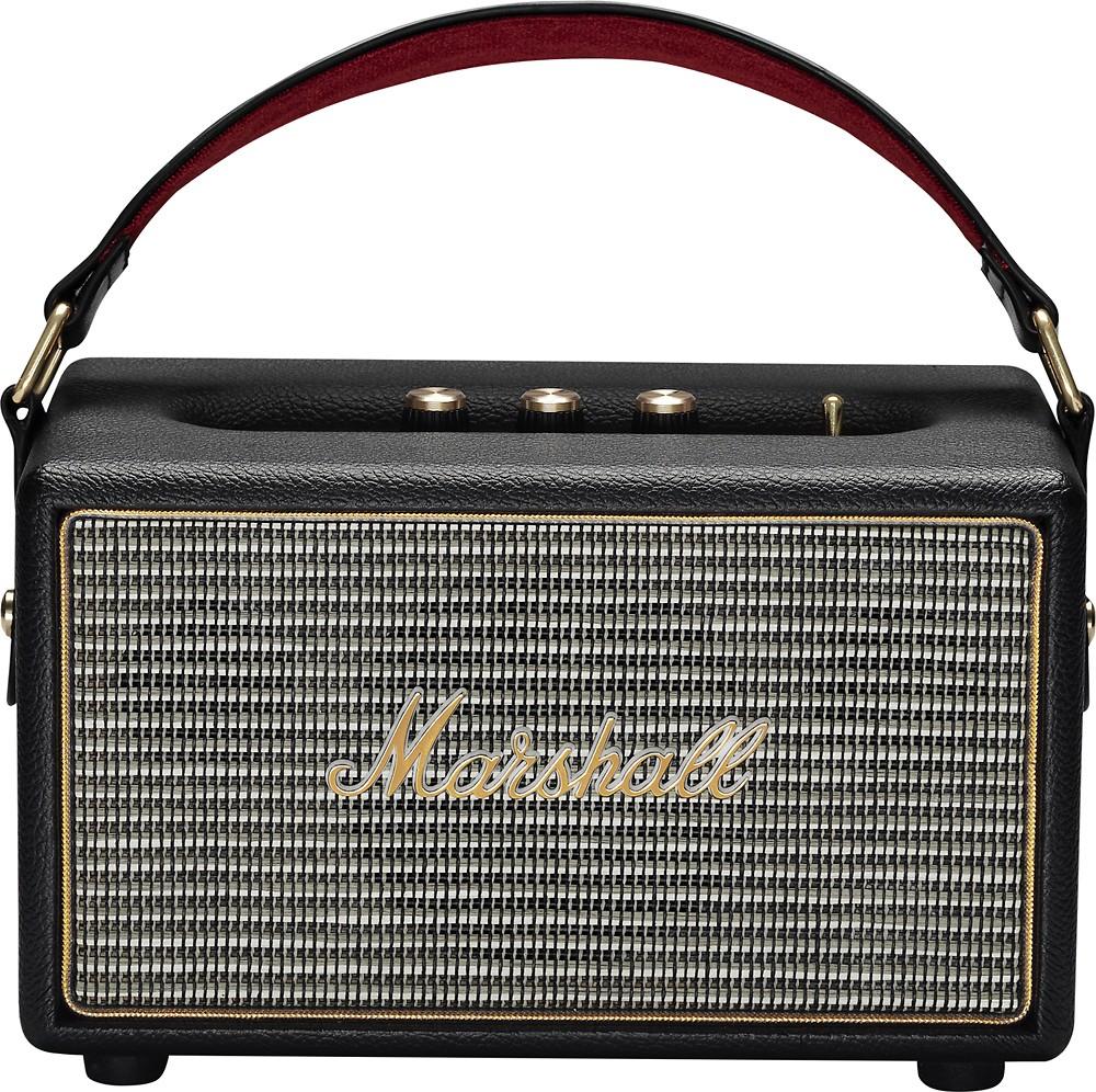 Marshall Bluetooth Speaker Portable: Marshall Kilburn Portable Wireless Bluetooth Speaker - Black