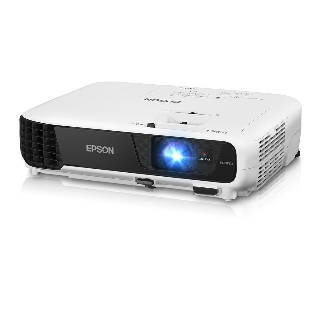 Epson ex5240 xga 1024x768 4 3 3200 lumens 3lcd projector for Hdmi projector