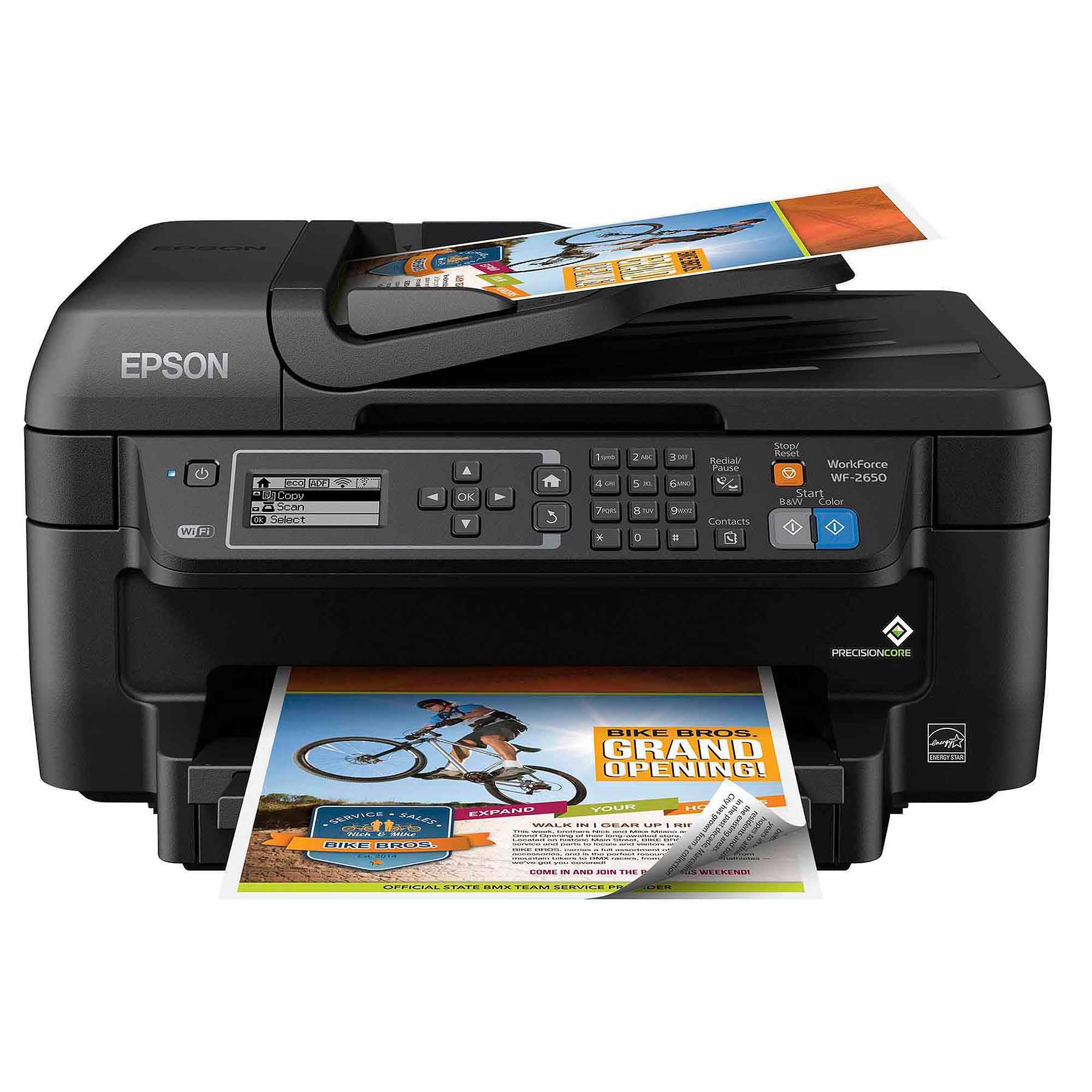 Epson WorkForce WF-2650 All-in-One Printer AirPrint Google
