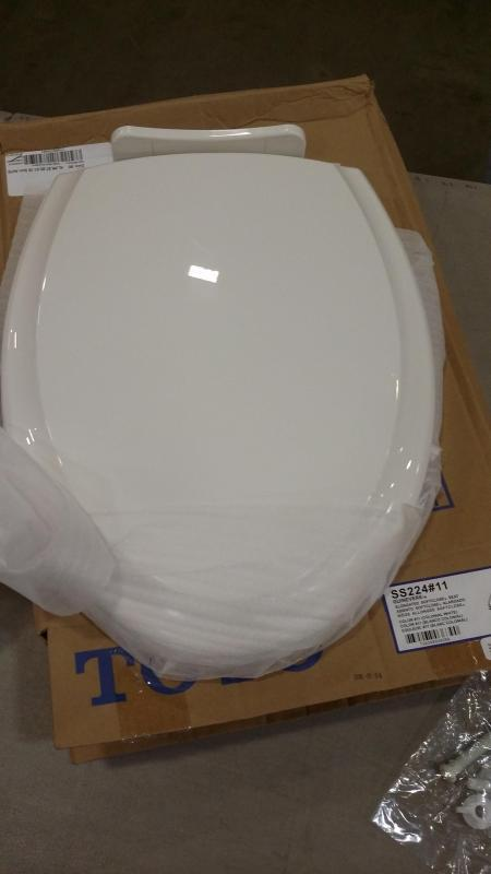 Toto SS224 11 Guinevere Elongated Closed-Front Toilet Seat and and and Lid with SoftClos a3be0f