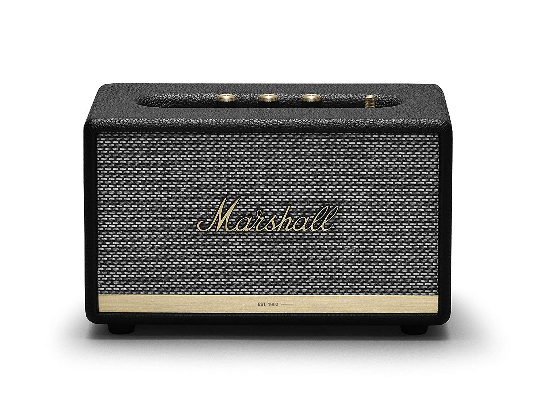 Marshall Acton II Wireless Bluetooth Speaker - Black